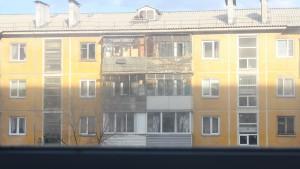 окна и солнце